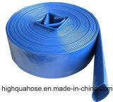 Boyau lourd du boyau de débit de l'eau de PVC d'irrigation/PVC Layflat