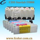Os CISS D3000 Sistema de fornecimento de tinta contínuo Drylab T7101 dispõe de impressão