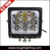 """12V 24V 6 """" 90W quadratische super helle CREE LED Arbeits-fahrendes Licht"""
