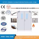Puerta clasificada del fuego de acero doble