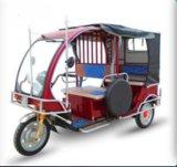 Triciclo Rickshaw eléctrico para motocicleta do passageiro