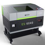 Es-6040 bas prix et la gravure de la machine de découpe laser pour Crylic/bois/cuir/caoutchouc
