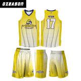 Uniforme della Jersey di pallacanestro delle donne della pianura di disegno di marchio impostata (BK008)