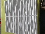 Panneau de mur de PVC du mur 3D de décoration intérieure avec imperméable à l'eau