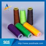 Polyester de qualité cousant le filé amical de Spandex de Threadr Eco
