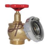 Brida de latón de alta calidad de la válvula de aterrizaje de boca de incendios