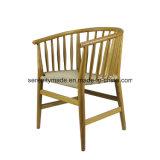O mobiliário moderno Restaurante Cadeira de jantar em madeira natural
