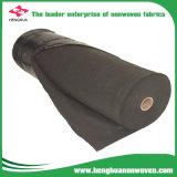 Black 6m de ancho mejor césped maleza seguro Nonwoven Fabric para asesino de malezas