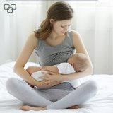 穀物の上の母乳で育てる妊婦の女性のタンクトップを看護している2017人の卸し売り高品質の袖なしの女性