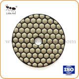 도와 테라조 석회석 석회화 콘크리트를 위한 다이아몬드 건조한 닦는 패드
