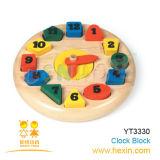 Jouet en bois - Bloc d'horloge (YT3330)
