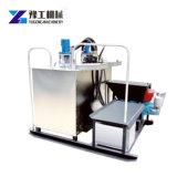 Caldaia calda termoplastica della fusione del doppio cilindro idraulico
