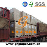 Papel offset finos branca 70*100 na folha de mercado South-Asia