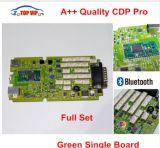 a++の品質の緑シングル・ボードCdpのプロ低価格Tcs Cdp Bluetooth 2014r2/2015r3/2015.1のソフトウェア新しいVci Tcs Cdpのプロスキャンナー