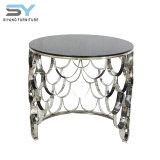 Comercio al por mayor de muebles reflejado la ampliación de la tabla Tabla Flexible mesa lateral