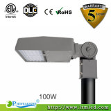 Huerto urbano de iluminación LED de exterior de la luz de carretera Calle luz 100W