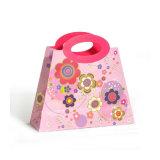 С другой стороны печатной платы пользовательского магазинов коричневый крафт-бумаги мешок (YH-PGB101)