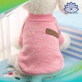 I vestiti del cane per i vestiti molli del maglione del cane di animale domestico dei piccoli cani per la chihuahua di inverno del cane copre l'attrezzatura classica Ropa Perro 20-22s1 dell'animale domestico