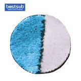 [بستسوب] تصديد نقل [سقوين] مادة لأنّ لباس (مستديرة, ضوء - اللون الأزرق مع أبيض)