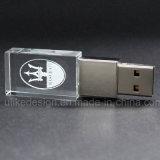 Высокое качество пользовательских 3D логотип Crystal Reports с индикатором USB флэш-памяти USB-накопителя