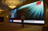 Étape avec affichage LED souple et transparent, affichage LED souple