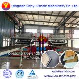 Un revêtement de sol en vinyle PVC Extrusion Machine SPC de ligne de revêtements de sol en vinyle