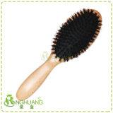 Masseur de poils de sanglier en bois brosse à cheveux -029