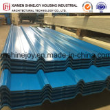 Anti-corrosion Feuille de toiture en métal peint de couleur pour la construction de maisons matériaux décoratifs