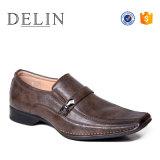 Estilo de moda PU el Diseñador de zapatos de vestir a los hombres, el deslizamiento de los hombres Zapatos de Vestir