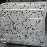 Мраморные камня алюминиевый лист зерна/катушка для украшения
