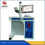 De Laser die van het metaal Machine voor de Graveur van de Laser van de Vezel van het Adreskaartje van het Metaal Merken