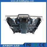 P4.81 IP65 HD LED de alquiler de video wall para exteriores e interiores de la etapa caso