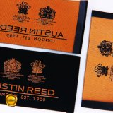 Sinicline personalizado de alta calidad logotipo tejido traje de etiqueta para