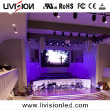 Affichage LED P2.9 intérieur pour l'Église mur vidéo de l'écran