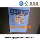 Anti-Curl Papéis finos não revestidos por uma folha de papel para impressão em offset