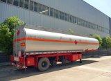 60m3ステンレス鋼のガソリン重油タンクトレーラー