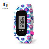 中国のカロリーの卸し売りスポーツのシリコーンの歩数計のブレスレットの適性の腕時計