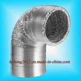 """De geventileerde Buis van het Aluminium van de Glasvezel Flexibele Naakte (2 """" ~20 """")"""