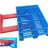 Pallet di plastica Rackable dell'HDPE resistente di industria di 1200*1000 euro