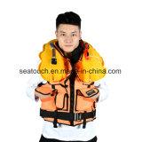 CCS solas aprobada Chaleco salvavidas inflables cintura Chaqueta de la vida marina