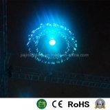 Hängendes Qualle-Optiklicht des WeihnachtenLED/Fiber für Dekoration
