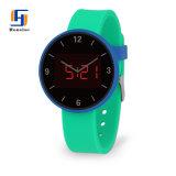 卸し売り高品質の丸型は昇進のためのLEDの腕時計を遊ばす