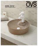 Beste Preis-Wäsche-Bassin-Kunst-Bassin-Fabrik-direkte Badezimmer-Eitelkeit