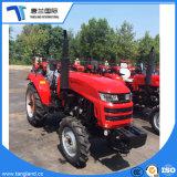 55HP 4*4WD Granja/Agriculturial/ruedas de tractor con pala retroexcavadora/Frente/hoja