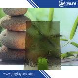 Популярные 4мм различных Декоративное стекло с рисунком
