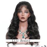 Perucas frontais do cabelo humano do Virgin do cabelo do laço brasileiro molhado e ondulado de 130 densidades para mulheres pretas