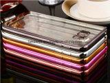 Chaud plaquer la caisse de TPU avec l'élégance et la conception noble pour la couverture de caisse de cellules/téléphone portable de galaxie de Samsung S7
