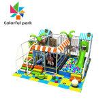 Parc coloré intérieur pour enfants de l'Amusement Classic Soft Naughty château gonflable personnalisé
