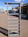 Equipo del ganado que desliza la puerta de desplazamiento del panel y desplazamiento del panel