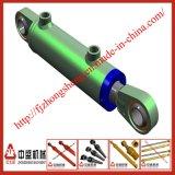 Piezas de Fittings&Excavator como maquinaria de construcción del cilindro de Hydrualic